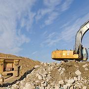 Heavy equipment, Washington DC Area Construction.