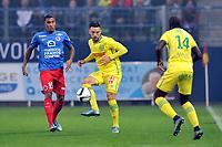 Fotball<br /> Frankrike<br /> Foto: Panoramic/Digitalsport<br /> NORWAY ONLY<br /> <br /> Adrien THOMASSON (fcn) - Emmanuel IMOROU (caen)<br /> Caen vs Nantes - League 1 - 10/23/2015