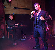 Gregory Nalbone performs at The Box during the NGLCCNY Shining Stars Awards presented October 25, 2012.