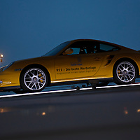 Porsche 911 at the Porsche Museum in Stuttgart, Germany, in 2011