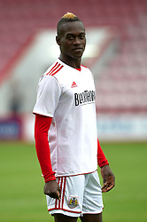 Bristol City's Toby Ajala - Photo mandatory by-line: Dougie Allward/JMP - Tel: Mobile: 07966 386802 27/03/2013 - SPORT - FOOTBALL - Goldsands Stadium - Bournemouth -  Bournemouth V Bristol City - Pre Season friendly