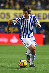 January 27, 2018 - Vila-Real, Castellon, Spain - Mikel Oyarzabal of Real Sociedad during the La Liga match between Villarreal CF and Levante Union Deportiva, at Estadio de la Ceramica, on January 26, 2018 in Vila-real, Spain  (Credit Image: © Maria Jose Segovia/NurPhoto via ZUMA Press)