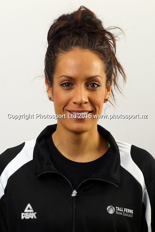 Natalie Taylor, New Zealand Tall Ferns, Womens National Basketball Team Headshots. Bruce Pullman Lodge, Auckland. 17 July 2015. Copyright Photo: William Booth / www.photosport.nz
