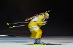 February 11, 2018 - Pyeongchang, Gangwon, South Korea - Peppe Femling of Sweden  at Mens 10 kilometre sprint Biathlon at olympics at Alpensia biathlon stadium, Pyeongchang, South Korea on February 11, 2018. (Credit Image: © Ulrik Pedersen/NurPhoto via ZUMA Press)