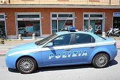 20130611 TENTATA RAPINA BANCA UNICREDIT VIA BOLOGNA