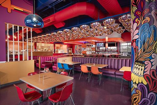 Interior Photo Of Mellow Mushroom Restaurant In Roanoke Virginia By Jeffrey  Sauers Of Commercial Photographics,