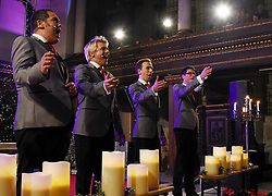 G4 (Jonathan Ansell, Mike Christie ,Ben Thapa and Nick Ashby) perform at St james Church, Piccadilly, London as part of their G4 Christmas Tour on Wednesday 20 December 2018