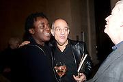 JOHN AKOMFRAH; MICHAEL AMINIAN; KEN THERAN, Migrations private view, Tate Britain. London. 30 January 2012.