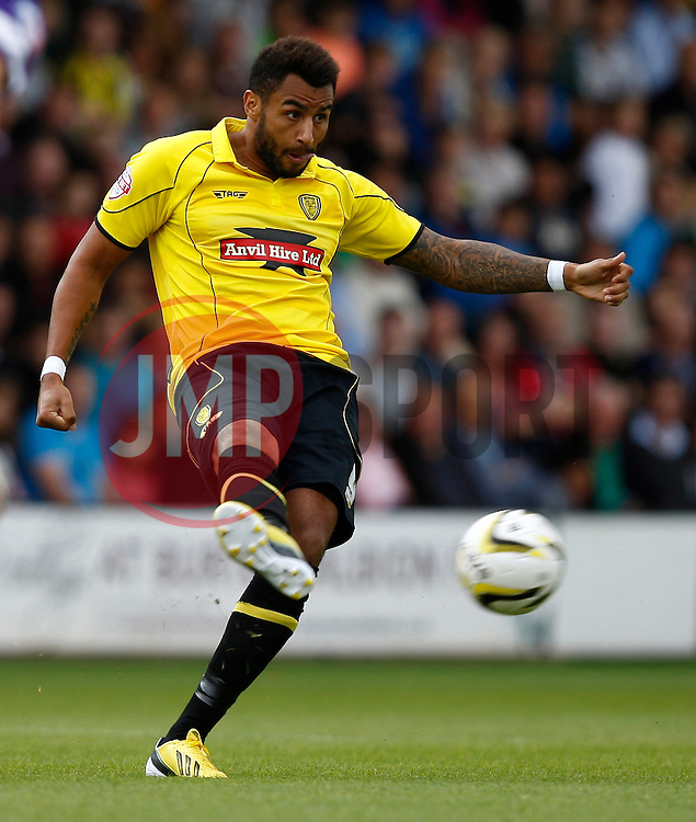 Burton Albion's Rene Howe  - Photo mandatory by-line: Matt Bunn/JMP - Tel: Mobile: 07966 386802 07/09/2013 - SPORT - FOOTBALL -  Pirelli Stadium - Burton upon Trent - Burton Albion V Oxford United - Sky Bet League Two