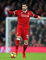 Emre Can of Liverpool - Mandatory by-line: Matt McNulty/JMP - 26/12/2017 - FOOTBALL - Anfield - Liverpool, England - Liverpool v Swansea City - Premier League