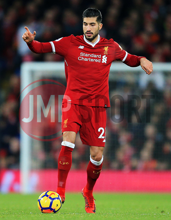 Emre Can of Liverpool - Mandatory by-line: Matt McNulty/JMP - 26/12/2017 - FOOTBALL - Anfield - Liverpool, England - Liverpool v Swansea City - Premier League
