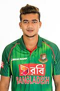 Taskin Ahmed, Bangladesh cricket team headshots ahead of their New Zealand tour. Cobham Oval, Whangarei. 21 December 2016. Copyright Image: Heath Johnson / www.photosport.nz