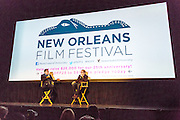 'Black and White' director Mike Binder discusses his film after its screening on opening night of the 25th anniversary New Orleans Film Festival