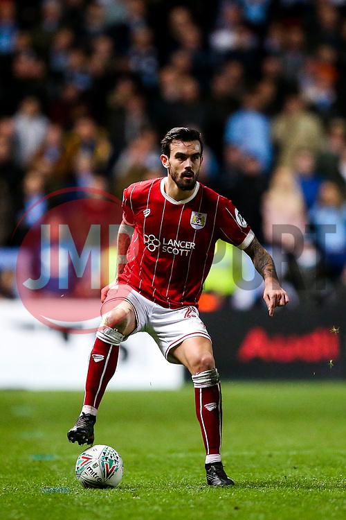 Marlon Pack of Bristol City - Rogan/JMP - 23/01/2018 - Ashton Gate Stadium - Bristol, England - Bristol City v Manchester City - Carabao Cup Semi Final Second Leg.