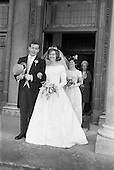 1963 - Wedding of Frank McKevitt and Frances Emmett.