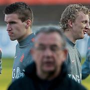 NLD/Katwijk/20110321 - Training Nederlandse Elftal Hongarije - NLD, Dirk Kuyt