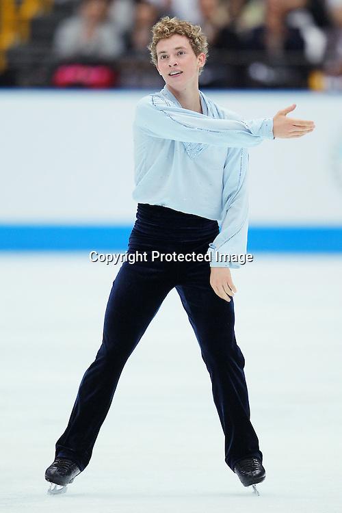 Adam Rippon (USA), OCTOBER 2, 2010 - Figure Skating : Adam Rippon of USA performs during Japan Open 2010 at Saitama Super Arena, Saitama, Japan. (Photo by Yusuke Nakanishi/AFLO SPORT) [1090]
