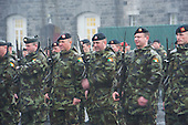 Ministerial Review of Lebanon Bound 47th Infantry Group in Renmore Barracks, Galway