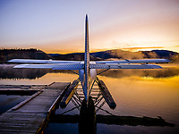 Darn...the frost signals that the tail-end of the Yukon float plane season is right around the corner.