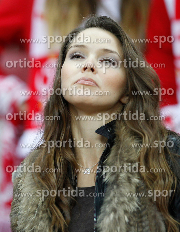 14.10.2014, Nationalstadium, Warsaw, POL, UEFA Euro Qualifikation, Polen vs Schottland, Gruppe D, im Bild NATALIA JAKULA // during the UEFA EURO 2016 Qualifier group D match between Poland and Scotland at the Nationalstadium in Warsaw, Poland on 2014/10/14. EXPA Pictures &copy; 2014, PhotoCredit: EXPA/ Newspix/ Michal Chwieduk<br /> <br /> *****ATTENTION - for AUT, SLO, CRO, SRB, BIH, MAZ, TUR, SUI, SWE only*****