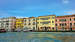 Buildings alongside the Grand Canal in Venice Italy<br /> <br /> (c) Andrew Wilson | Edinburgh Elite media