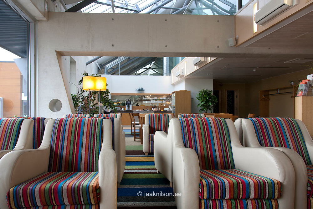 business lounge at airport