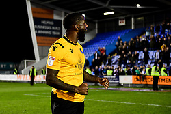 Abu Ogogo of Bristol Rovers after the final whistle of the match - Mandatory by-line: Ryan Hiscott/JMP - 23/11/2019 - FOOTBALL - Montgomery Waters Meadow - Shrewsbury, England - Shrewsbury Town v Bristol Rovers - Sky Bet League One
