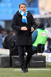 """Foto Filippo Rubin<br /> 01/12/2018 Ferrara (Italia)<br /> Sport Calcio<br /> Spal - Empoli - Campionato di calcio Serie A 2018/2019 - Stadio """"Paolo Mazza""""<br /> Nella foto: LEONARDO SEMPLICI (ALLENATORE SPAL)<br /> <br /> Photo Filippo Rubin<br /> December 01, 2018 Ferrara (Italy)<br /> Sport Soccer<br /> Spal vs Empoli - Italian Football Championship League A 2018/2019 - """"Paolo Mazza"""" Stadium <br /> In the pic: LEONARDO SEMPLICI (SPAL'S TRAINER)"""