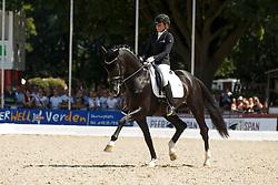 Schneider Dorothee, (GER), Sezuan 2<br /> Final 6 years old horses<br /> World Championship Young Dressage Horses - Verden 2015<br /> © Hippo Foto - Dirk Caremans<br /> 09/08/15