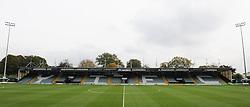 General view of Huish Park.  - Mandatory byline: Alex Davidson/JMP - 07966 386802 - 10/10/2015 - FOOTBALL - Huish Park - Yeovil, England - Yeovil v Dagenham - Sky Bet League Two