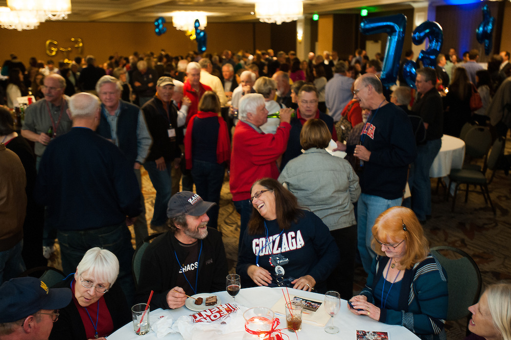 Reunion Weekend at Gonzaga University (Photo by Rajah Bose)