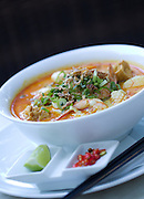 Laksa at The Deck bar. Photo Shane Eecen