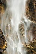 Detail of Bridalveil Fall, Yosemite Valley, Yosemite National Park, California USA