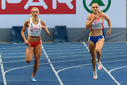 Goud voor de Poolse Justyna Swiety-Erstic en brons voor Lisanne de Witte op de 400m bij het EK atletiek in Berlijn op 11-8-2018