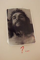 The image of Che Guevara stands for many things throughout Latin America, from a young traveler to an anti-U.S., anti-imperialist revolutionary. A picture of the Che's corpse is annotated with a question mark in a private museum in the small town of  La Higuera, where Guevara was captured and killed. 25 families now live in La Higuera which is more than 700km from La Paz and a grueling 30 hour journey over land.