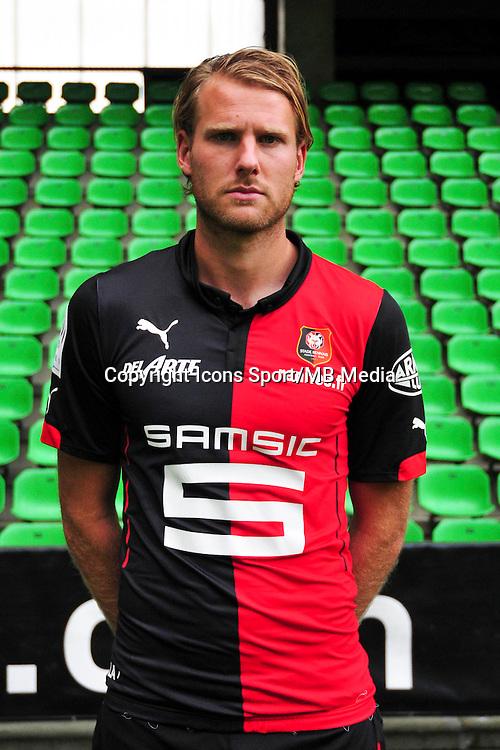 Ola TOIVONEN - 15.09.2014 - Photo officielle Rennes - Ligue 1 2014/2015<br /> Photo : Philippe Le Brech / Icon Sport