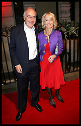 Michael Howard and wife  arriving  arriving at the British Film Institute's  Luminous Gala in London,  Tuesday, 8th October 2013. Picture by Stephen Lock / i-Images