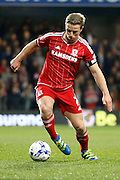 Middlesbrough FC midfielder Grant Leadbitter (7) during the Sky Bet Championship match between Queens Park Rangers and Middlesbrough at the Loftus Road Stadium, London, England on 1 April 2016. Photo by Andy Walter.