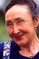 Saule Iskakova, retired history  teacher,  Kegan, Kazakhstan