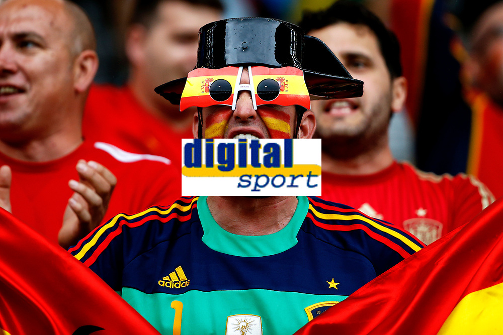 Tifoso Spagna Supporter Spain <br /> Toulouse 13-06-2016 Stade de Toulouse Footballl Euro2016 Spain - Czech Republic  / Spagna - Repubblica Ceca Group Stage Group D. Foto Matteo Ciambelli / Insidefoto