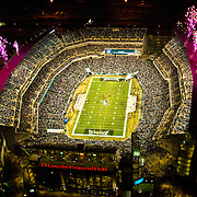 Aerial views of Lincoln Financial Field, home of the Philadelphia Eagles