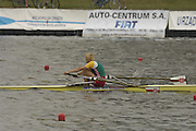 Poznan, POLAND.  2006, FISA, Rowing World Cup the,  BLR W1X Ekaterina KARSTEN, winning the   women's single on the  'Malta Regatta course;  Poznan POLAND, Sat. 17.06.2006. © Peter Spurrier   ....[Mandatory Credit Peter Spurrier/ Intersport Images] Rowing Course:Malta Rowing Course, Poznan, POLAND