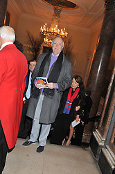 SIR TIM RICE at a private view to celebrate the opening of the Royal Academy's exhibition of work by David Hockney held at The Royal Academy, Burlington House, Piccadilly, London on 17th January 2012.