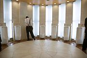 a fancy male public urinal toilet Japan