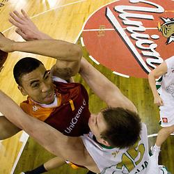 20091125: Basketball - Euroleague, KK Union Olimpija vs Virtus Lottomatica Roma