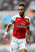 Pierre-Emerick Aubameyang (#14) of Arsenal during the Premier League match between Newcastle United and Arsenal at St. James's Park, Newcastle, England on 15 September 2018.