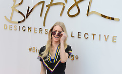 © London News Pictures. 20/05/2015. Mary Charteris.<br /> Britsh Designers Collective. Celebrities  launch 6-week pop up shop at Bicester Village. Celebrities launching the 6-week event called the British Designers Collective in which a pop-up shop has been installed to sell one of pieces from up and coming designers. Photo credit: Richard Cave/LNP