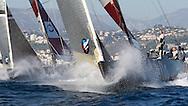 FRANCE, Nice, 20th November 2009, Louis Vuitton Trophy, Day 13, Semi Final Day 2, TEAMORIGIN vs Azzurra, Race 2, Prestart.