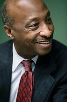 Kenneth Frazier ist CEO und Präsident des US-Amerikanischen Pharmaunternehmens Merck