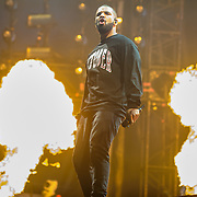 WASHINGTON, DC - September 26th, 2015 - Drake performs at the 2015 Landmark Festival in Washington, D.C.  (Photo by Kyle Gustafson / For The Washington Post)